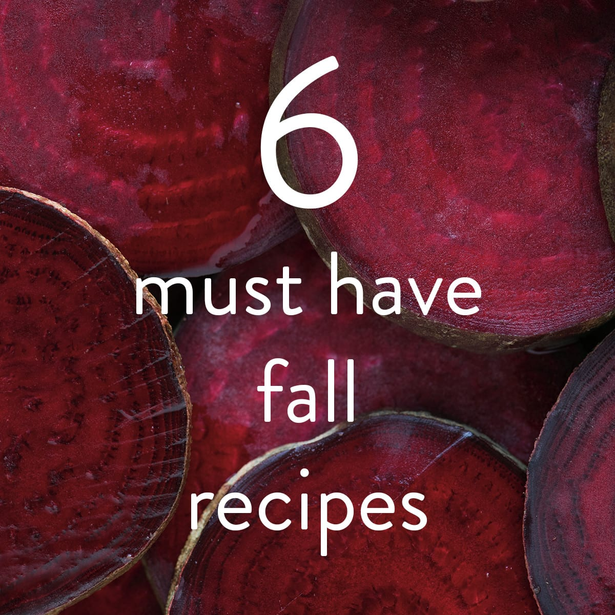 6 Must Have Fall Recipes