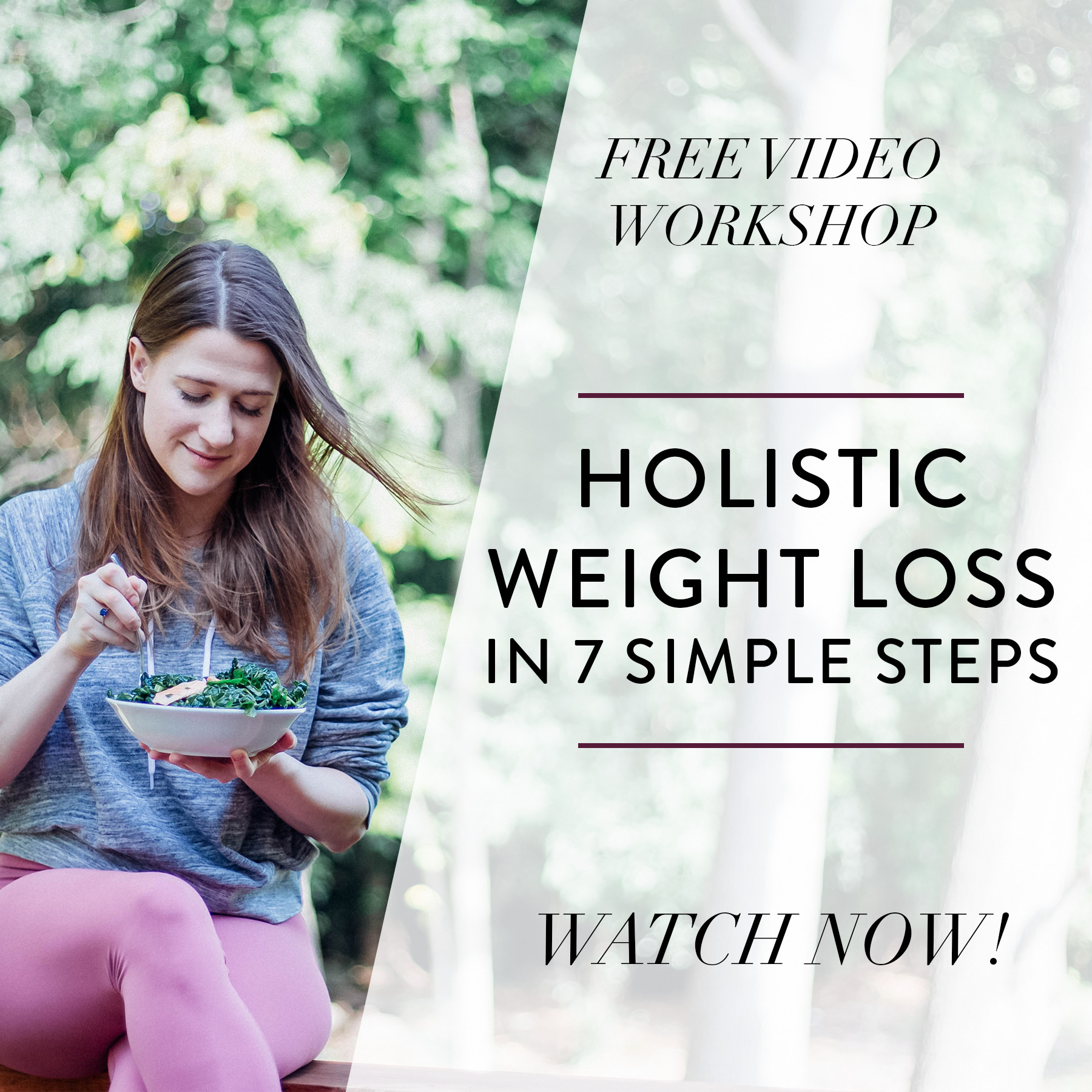 Holistic Weight Loss Workshop